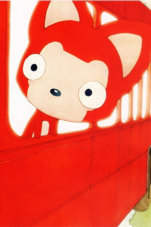 iphone4動漫紅色壁紙_iphone4動漫紅色壁紙下載