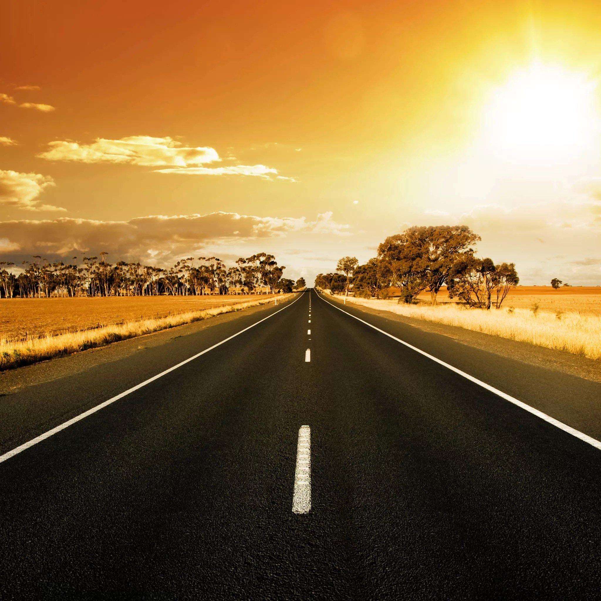 公路风景高清手绘大全