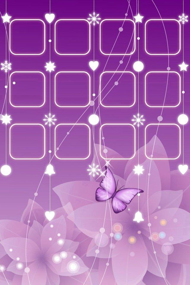 iphone4主屏控紫色壁纸_iphone4主屏控紫色壁纸下载