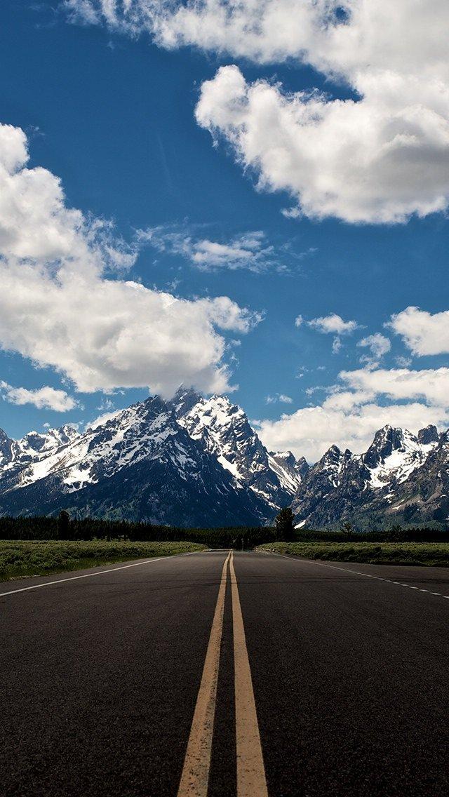 壁纸 道路 风景 高速 高速公路 公路 桌面 640_1136 竖版 竖屏 手机
