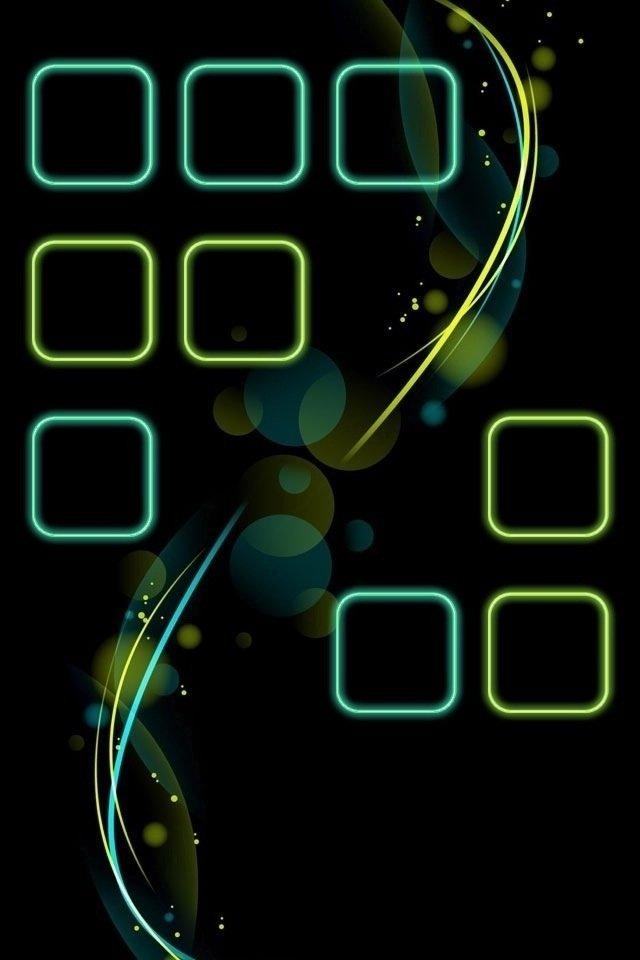 iphone4主屏控黑色壁纸_iphone4主屏控黑色壁纸下载